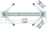 Т-3,5 Подъемник с нижней синхронизацией, 3.5 т