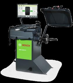 Bosch WBE 4120 DT Балансировочный станок с электронной линейкой и ЖК-монитором