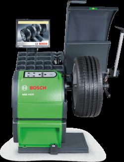 Bosch WBE 4430 Балансировочный станок с ЖК-монитором, механический зажим