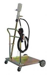 WDK-89200 Установка для раздачи масла с насосом и тележкой WiederKraft